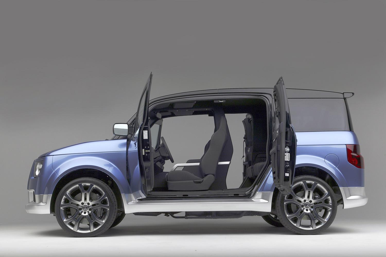Honda Element Camper >> Honda Element Showcar – Five Axis