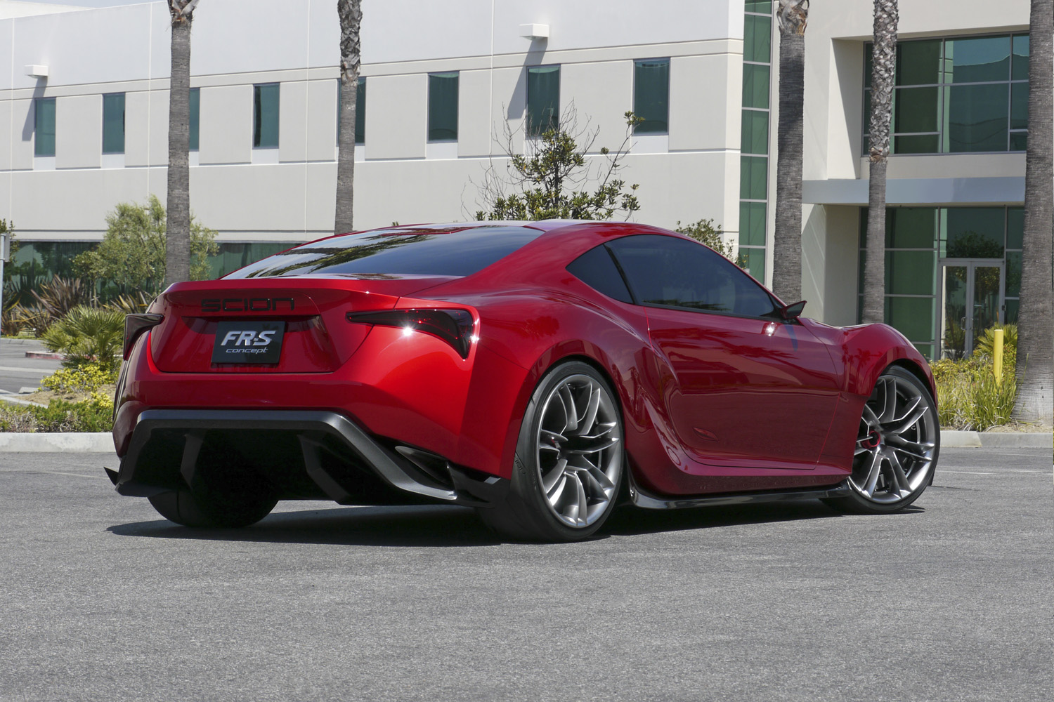 Toyota Ft 1 >> Scion FR-S Concept – Five Axis