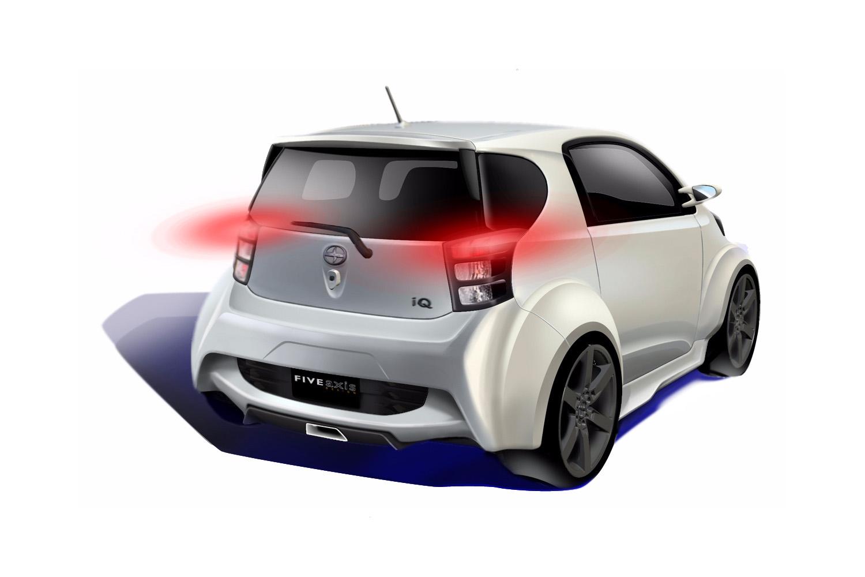 2016 Honda Element >> Scion iQ Concept – Five Axis