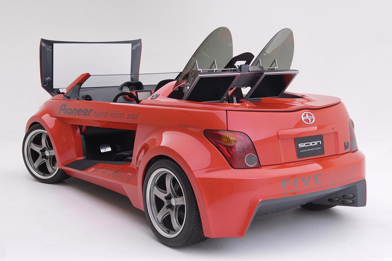 Scion Xa Speedster Five Axis