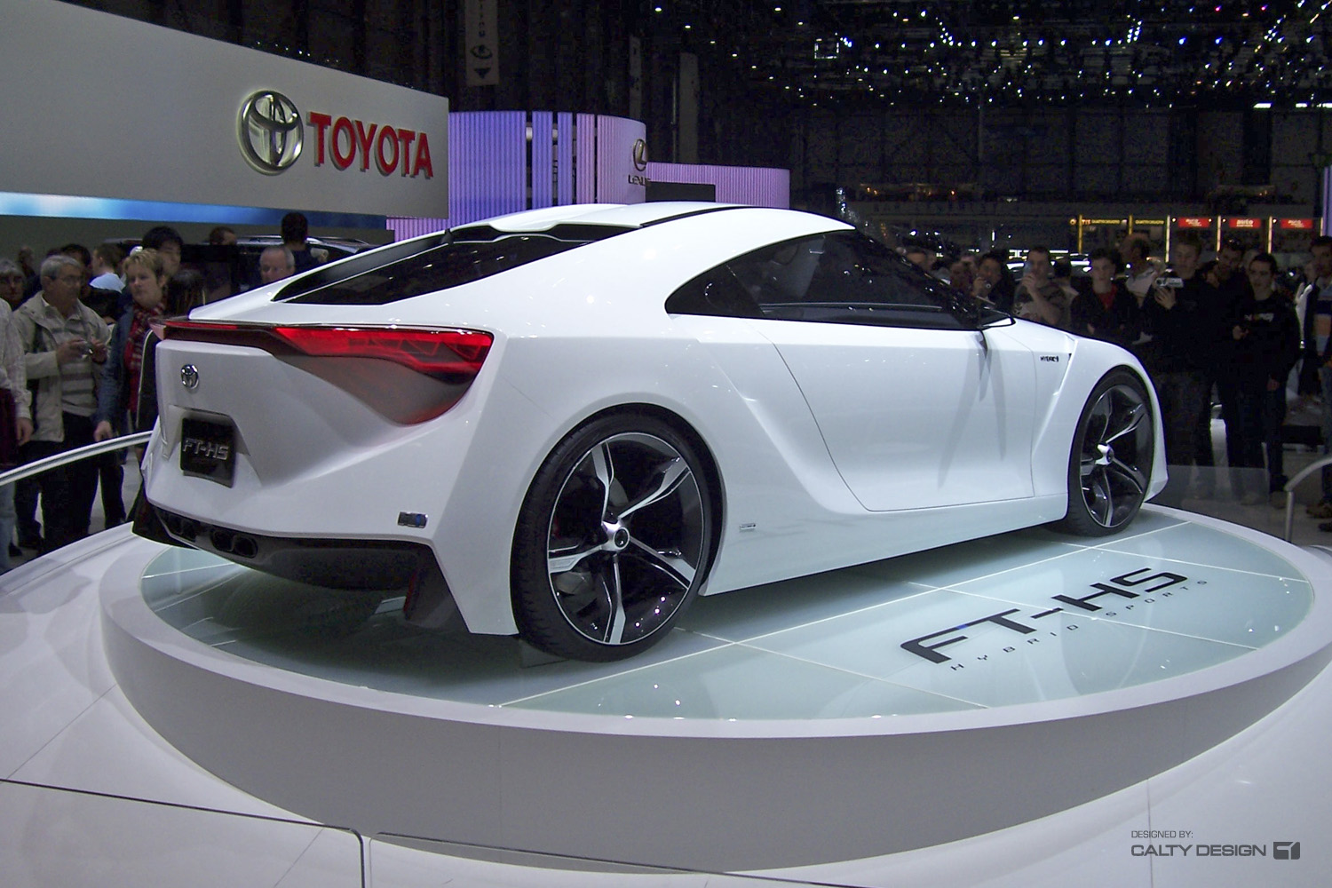 Toyota Ft 1 >> Toyota FT-HS Concept – Five Axis